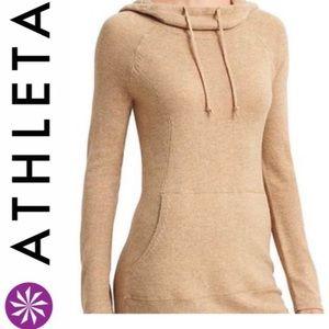 Athleta Cashmere Hooded Sweatshirt